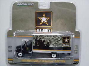 "International Durastar Box Van "" US Armée "", Greenlight 1:64 Édition Limitée"