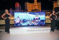 """BELLISSIMO SMART TV SAMSUNG UE78JS9500 3D SUHD WIFI 4K CURVO SERIE 9 """"FUTURE"""""""