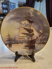 The Great Clipper Ships Plate Collection By Franklin Mint 1981 – Flying Cloud