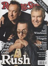 RUSH ROLLING STONE Magazine July 2, 2015 NEWSSTAND Issue No Label NEW/MINT!