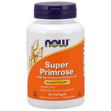 Primula Super, 1300mg x 60 Capsule Morbide - Now Foods