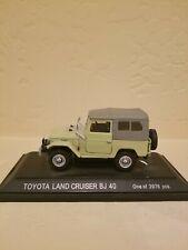 EBBRO Toyota Land Cruiser BJ40 Green 1:43 Diecast Model