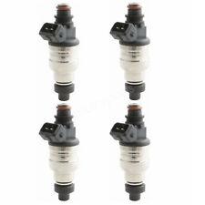 Set(4) 500cc Fuel Injectors For Honda B16 B18 B20 D16 D18 F22 H22 H22A VTEC