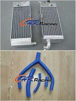 aluminum radiator+hose for YAMAHA YZ250 YZ 250 1992/WR250 WR 250 1992-1993 92 93