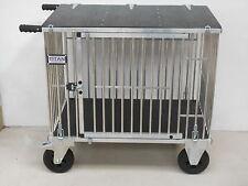 "Titan Large 1 Berth Aluminium Dog Show Trolley w/8"" All Terrain Wheels"