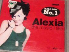 FREE SHIPPING - ALEXIA THE MUSIC I LIKE IMPORT CD SINGLE CLUB REMIXES RARE