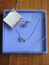 Brand new Claire's ring and neckless set