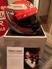 1/2 mini helmet signed Kimi Raikkonen Ferrari 2014 bell formula1 f1