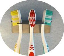 Zahnbürstenhalter R aus Edelstahl für 3 Zahnbürsten Aufsteckbürsten oral b
