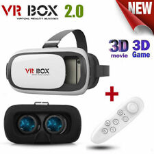 Google Cardboard VR BOX 2.0 Virtual Reality 3D Glasses Bluetooth Remote Gamepad