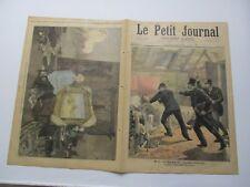 Le petit journal 1893 132 le complot anarchiste (une arrestation)