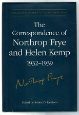 Correspondence of Northrop Frye and Helen Kemp 1932-1939 (Vol I 1932-1935 ONLY)