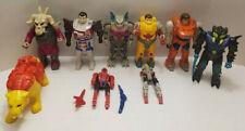 Transformers Vintage Pretenders Lot Of 7 Shells & 2 Figures