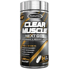 Muscletech Clear Muscle Next Gen 84ct Lean Mass, Stamina, Strength, & Recovery