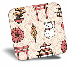 Awesome Fridge Magnet - Japanese Lucky Cat Pattern Cool Gift #13271