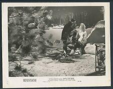 STEVE BRODIE MYRNA DELL in Rose Of The Yukon '48 SNOW CAMPFIRE