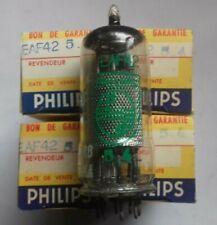 EAF42 PHILIPS TUBE ELECTRONIQUE X 4 PCS