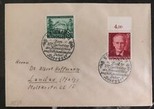 1943 Krieglach Germany Cover To Landau Peter Rusegger Cancel