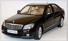 AUTOART 2005 Mercedes C Class Black Very Rare Dealer Edition 1:18*New!