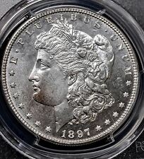 1897 P - MS65 PL PCGS - MORGAN SILVER DOLLAR -  (604) ULTRA SCARCE IN PL