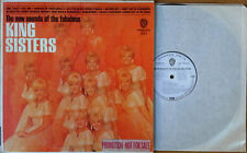 KING SISTERS - NEW SOUNDS OF THE FABULOUS KING SISTERS - WB LP - WHITE LBL PROMO