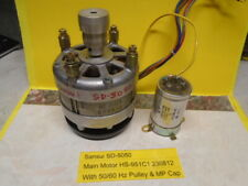 Sansui SD-5050 Main Motor HS-951C1 With 50/60 Hz Pulley & MP Cap Used