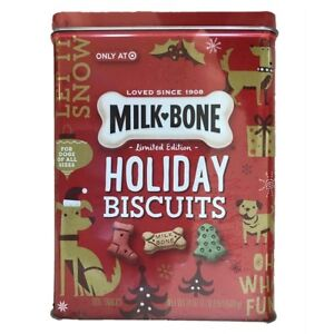 Milk-Bone Limited Edition Holiday Biscuits Dog Treats Dog Snacks