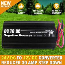 NEW 24V DC TO 12V DC Automobile Converter Reducer 30 AMP Step Down 30A