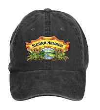 Unisex Washed Adjustable Sierra Nevada Beer Sign Cotton Six-panel Baseball Cap