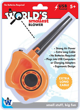 Westminster, Inc. World's Smallest Blower - Real, Working, Tiny, USB Powered
