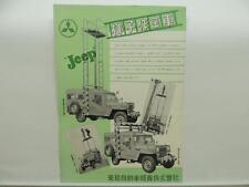 Japanese Jeep Dealer Brochure Mitsubishi Literature L9068
