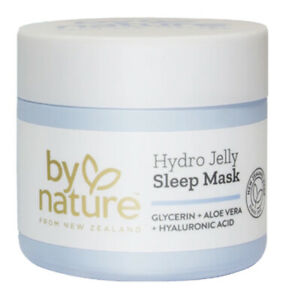By Nature Hydro Jelly Sleep Mask with Glycerin, Aloe Vera and Hyaluronic Acid.