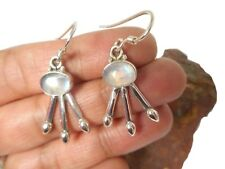 MOONSTONE   Sterling  Silver  925  Gemstone  EARRINGS  -  Gift Boxed