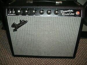Fender 65 Reissue Princeton Reverb Amp. Tube/valve. Mint condition.