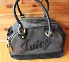 Juicy Couture Dog Carrier Bag Black Duffle bag VERY USED