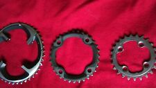 shimano xtr m980 set  chainrings 42t 32t 24t 104bcd