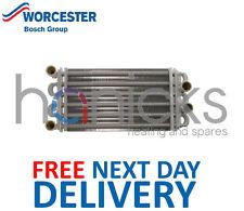 Worcester BOSCH 28i JUNIOR principale Scambiatore di calore 87161054830 parte originale * NUOVA *