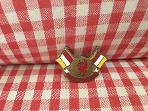Vintage Liverpool enamel badge football