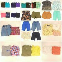 Huge Lot Women's 2X Plus Size Summer Clothes Shorts Pants Skirts Shirts Tops