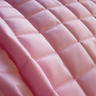 QUILTED FABRIC Waterproof UK Manufactured Outdoor Jacket Upholstery Dress - PINK