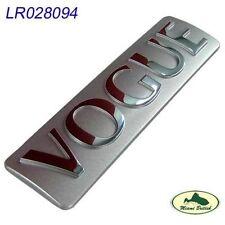 LAND ROVER RANGE VOGUE REAR TAIL GATE STICKER DECAL EMBLEM BADGE LR028094 OEM