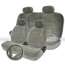2000 2001 2002 2003 For Nissan Sentra Grey Velour Seat Cover