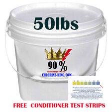 Swimming Pool Chlorine 50lbs Granular 90% pure Active Chlorine, not 73%