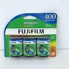 Fujifilm Advanced Photo System Nexia 400 Speed Film 24mm Expired 10/2009 3 Pack