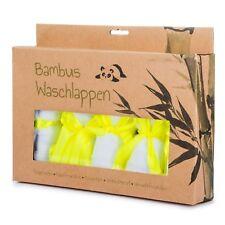 Bambus Waschlappen Set - Baby Handtücher - antibakteriell, hypoallergen & weich