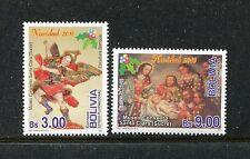 Bolivia 1447-1448, MNH, 2010, Christmas 2v. x27669