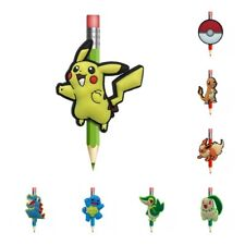2pcs/lot Pokemon Pencil Toppers DIY School Stationery Kids Party Xmas Small Gift