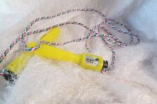 "jump rope with counter, yellow, rope & handles approx 100"" adjustable (a)"