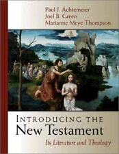 Introducing the New Testament: Its Literature and Theology by Thompson, Mariann