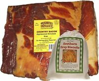 Old-Fashioned Country Cured and Smoked Applewood Slab Bacon 4 to 5 Lbs